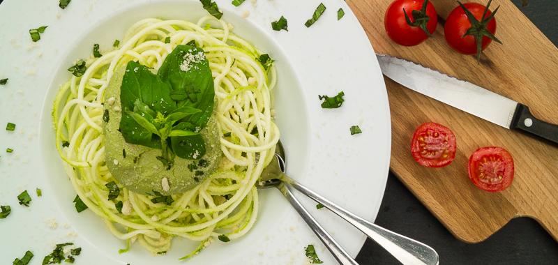 Zucchini Spaghetti Basilikum Pesto_Cover